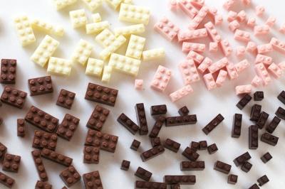 A Lego sem örök, ha csokiból készült. :)