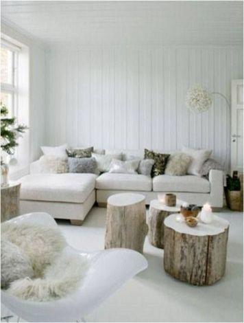 Fehér árnyalatok fával- gondoltad volna, milyen jól néz ki?